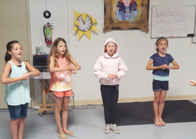 Jr Musical Theater Camp Rehearsal