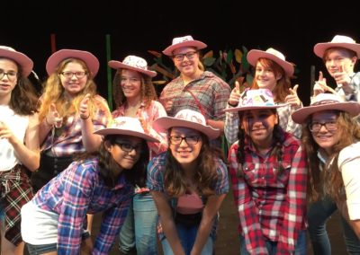 Musical Theater Camp Girls Group Photo 2016