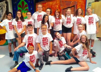 Musical Theater Camp Group Photo 2016